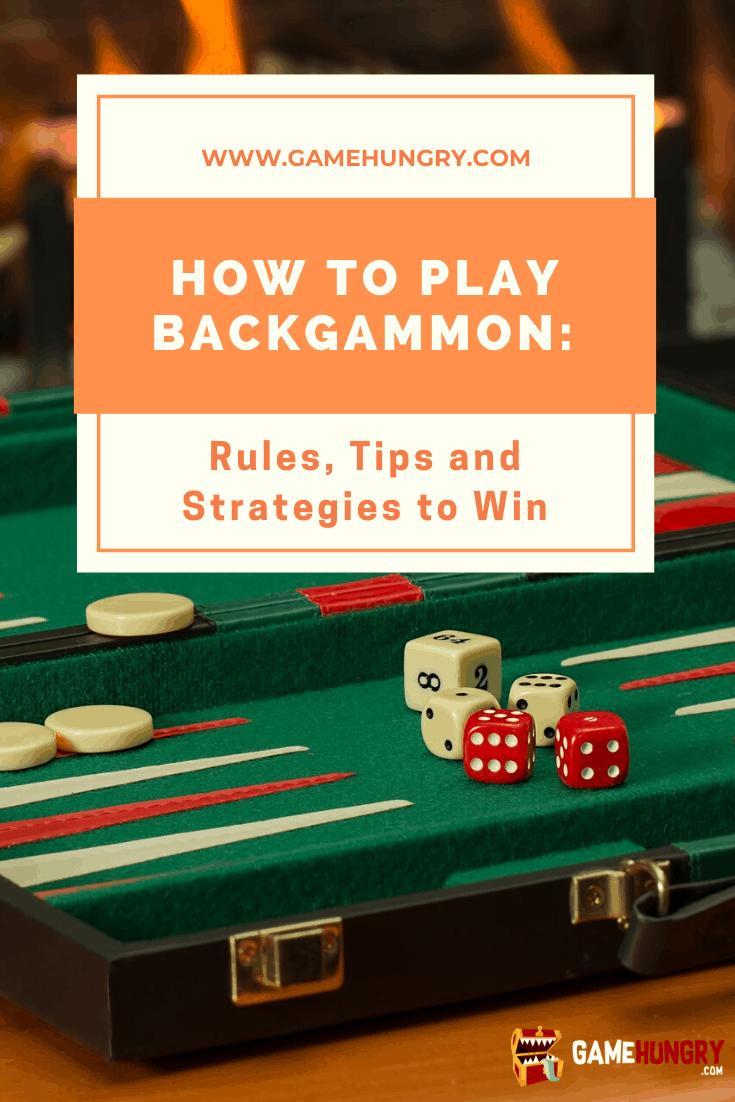 backgammon betting rules